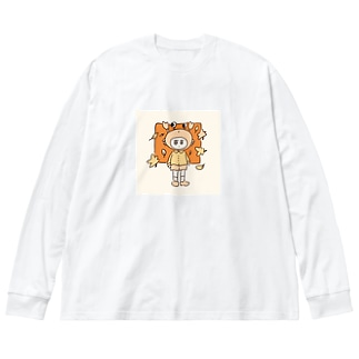 ! Big silhouette long sleeve T-shirts