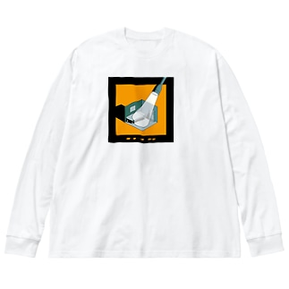 ROOM&LIGHT Big silhouette long sleeve T-shirts