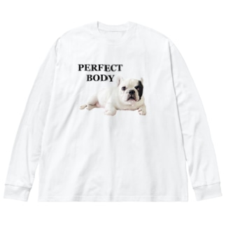 PERFECT BODY Big silhouette long sleeve T-shirts