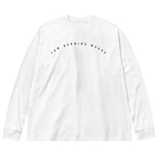 K.K.S.J Big silhouette long sleeve T-shirts