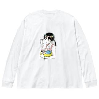 銭湯女子・ビッグシルエットTシャツ Big silhouette long sleeve T-shirts