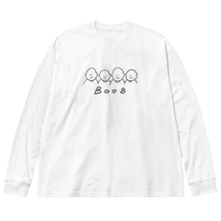 ボウズ Big silhouette long sleeve T-shirts