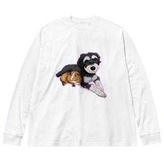 なかよしモルシュナ2☆パステル Big Silhouette Long Sleeve T-Shirt