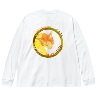 ORDINARY CATS7(秋) Big silhouette long sleeve T-shirts