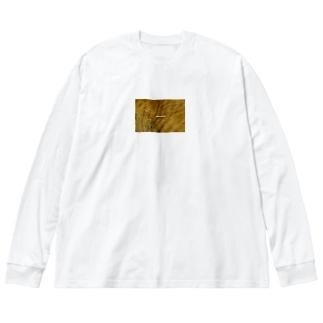 photoglish Big silhouette long sleeve T-shirts