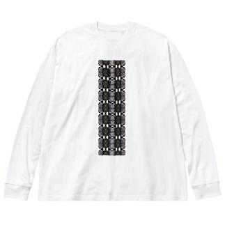Steel frills Big silhouette long sleeve T-shirts