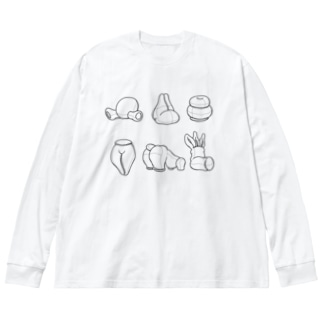 アドのNUIGURUMI Big silhouette long sleeve T-shirts