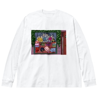MOMENT Big silhouette long sleeve T-shirts