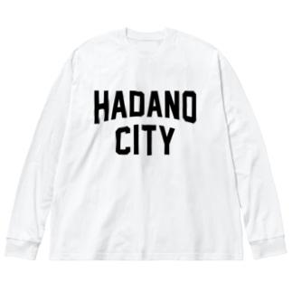 秦野市 HADANO CITY Big silhouette long sleeve T-shirts