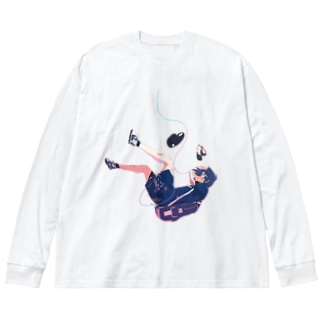 ILL21 Big silhouette long sleeve T-shirts