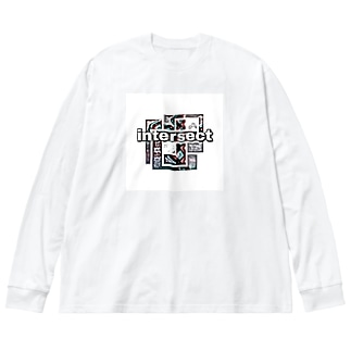 インターセクト Big silhouette long sleeve T-shirts