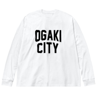 大垣市 OGAKI CITY Big silhouette long sleeve T-shirts