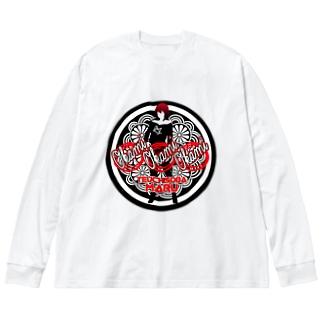 TK-pro(手打ちそばまる_女将) Big silhouette long sleeve T-shirts