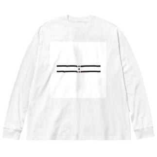 reggirtrigger Big silhouette long sleeve T-shirts