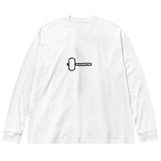 KOUMUTENグッズ Big silhouette long sleeve T-shirts