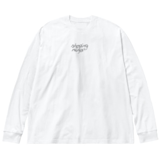 OMT Big silhouette long sleeve T-shirts