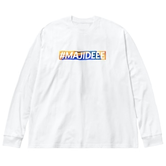 #MAJIDEEE Big silhouette long sleeve T-shirts