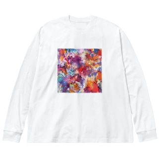 FurthermoreⅢ Big silhouette long sleeve T-shirts
