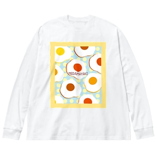 MEDAMAYAKI Big silhouette long sleeve T-shirts