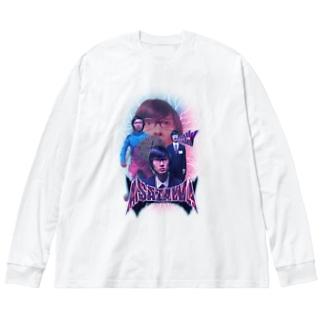 浅沢 Big silhouette long sleeve T-shirts