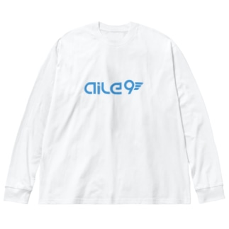Aile9グッズ Big silhouette long sleeve T-shirts