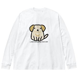 らぶらどーる Big silhouette long sleeve T-shirts