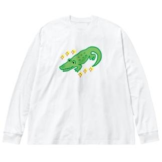 わにくん Big Long Sleeve T-shirt