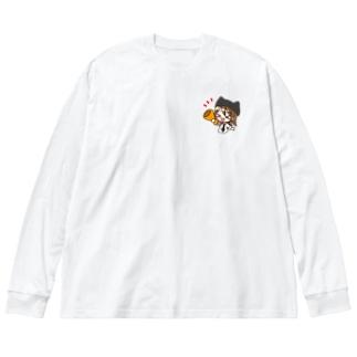 Sirry(応援しりーちゃん) Big silhouette long sleeve T-shirts