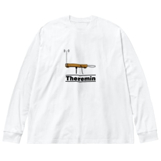 テルミン Big silhouette long sleeve T-shirts