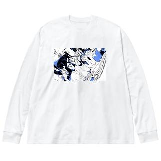抽選 Big silhouette long sleeve T-shirts