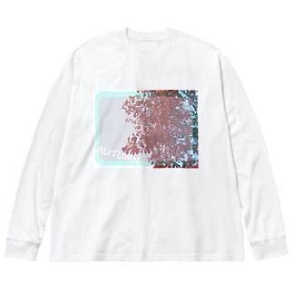 AUTUMN3 Big silhouette long sleeve T-shirts