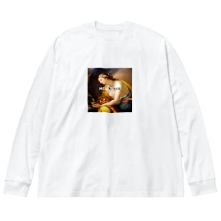 Hebe  Big silhouette long sleeve T-shirts