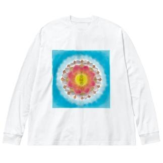 wamiのisanariフトマニ Big silhouette long sleeve T-shirts