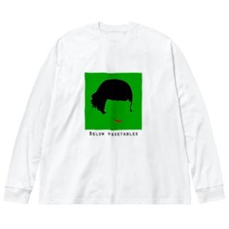 アメリ Big silhouette long sleeve T-shirts