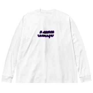 SMILE(ストリート) Big silhouette long sleeve T-shirts