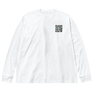 一期一会 Big silhouette long sleeve T-shirts