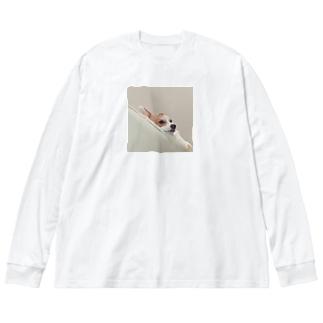Toro 「uum 🤔」 Big silhouette long sleeve T-shirts