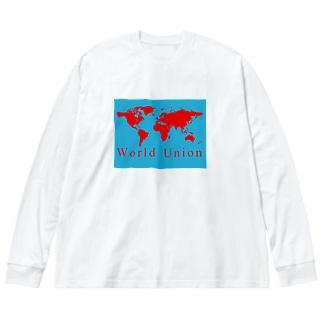 2021 2020 世界アパレル トップブランド SHIONZ オフィシャル グッズ ベストデザイナー tシャツ トップアーティスト デザイン TOP ARTIST ART 2020 BEST SELLER NOVEL  人気サイト 世界最大フリーオークションショッピングサイト WORLD TOP PHOTOGRAPHER 世界個展 world union market 協賛: 世界共同体世界福祉チャリティ 皇輝山聖龍寺 国際火星基地 Big Silhouette Long Sleeve T-Shirt