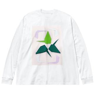 Y・S 無になるためのⅠ Big silhouette long sleeve T-shirts