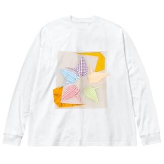 Y・S 無になるためのⅡ Big silhouette long sleeve T-shirts