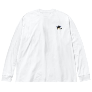 水美 Big silhouette long sleeve T-shirts