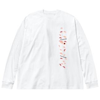 OFFICEMASAZUSHI SPver.01 Big silhouette long sleeve T-shirts
