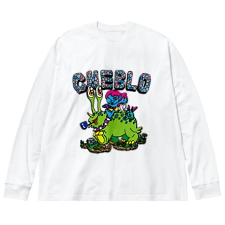 CHEBLO'S Big silhouette long sleeve T-shirts