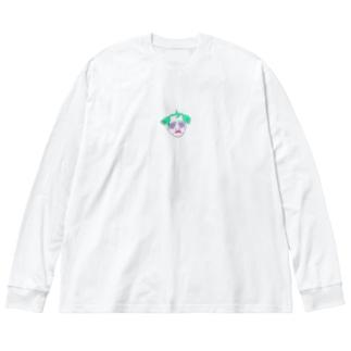 畑山 ススム Big silhouette long sleeve T-shirts