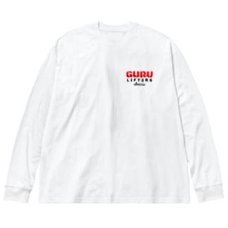 GURU オーバーサイズ ロンT Big silhouette long sleeve T-shirts