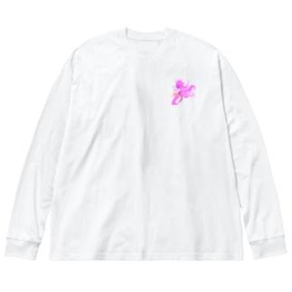 TeamAKASAKA ビッグシルエットロングスリーブTシャツ Big silhouette long sleeve T-shirts
