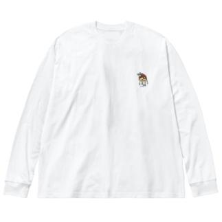 USHI01 Big silhouette long sleeve T-shirts