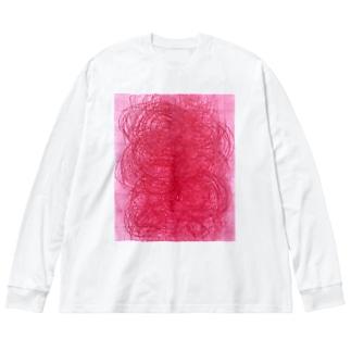 pattern 2020-2 Big silhouette long sleeve T-shirts
