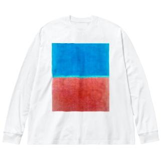 pattern 2020-3 Big silhouette long sleeve T-shirts
