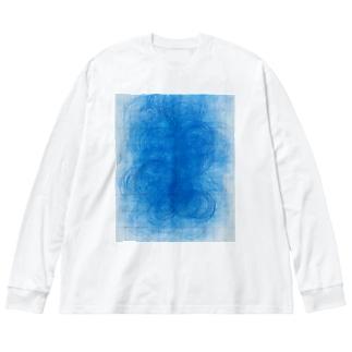 pattern 2015 Big silhouette long sleeve T-shirts